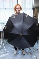 Petra Špindlerová a její deštník