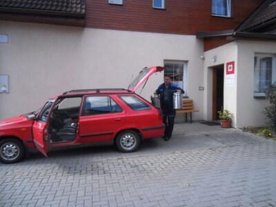 PROSINEC - Nákup automobilu pro Dům pokojného stáří - Charita Nový Hrozenkov